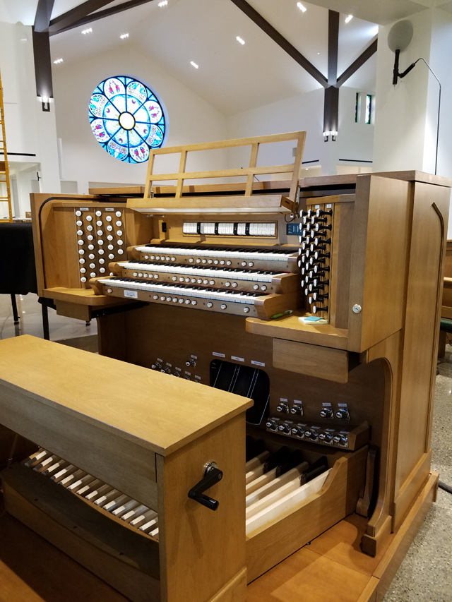 Allen Organ installation at St. Killian's Catholic Church