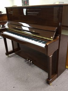 New Hailun Upright polished Walnut - Call for pricing or to schedule a demo