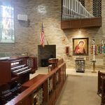Allen Pipe Combination organ at St. Bernadette Catholic Church, Monroeville PA