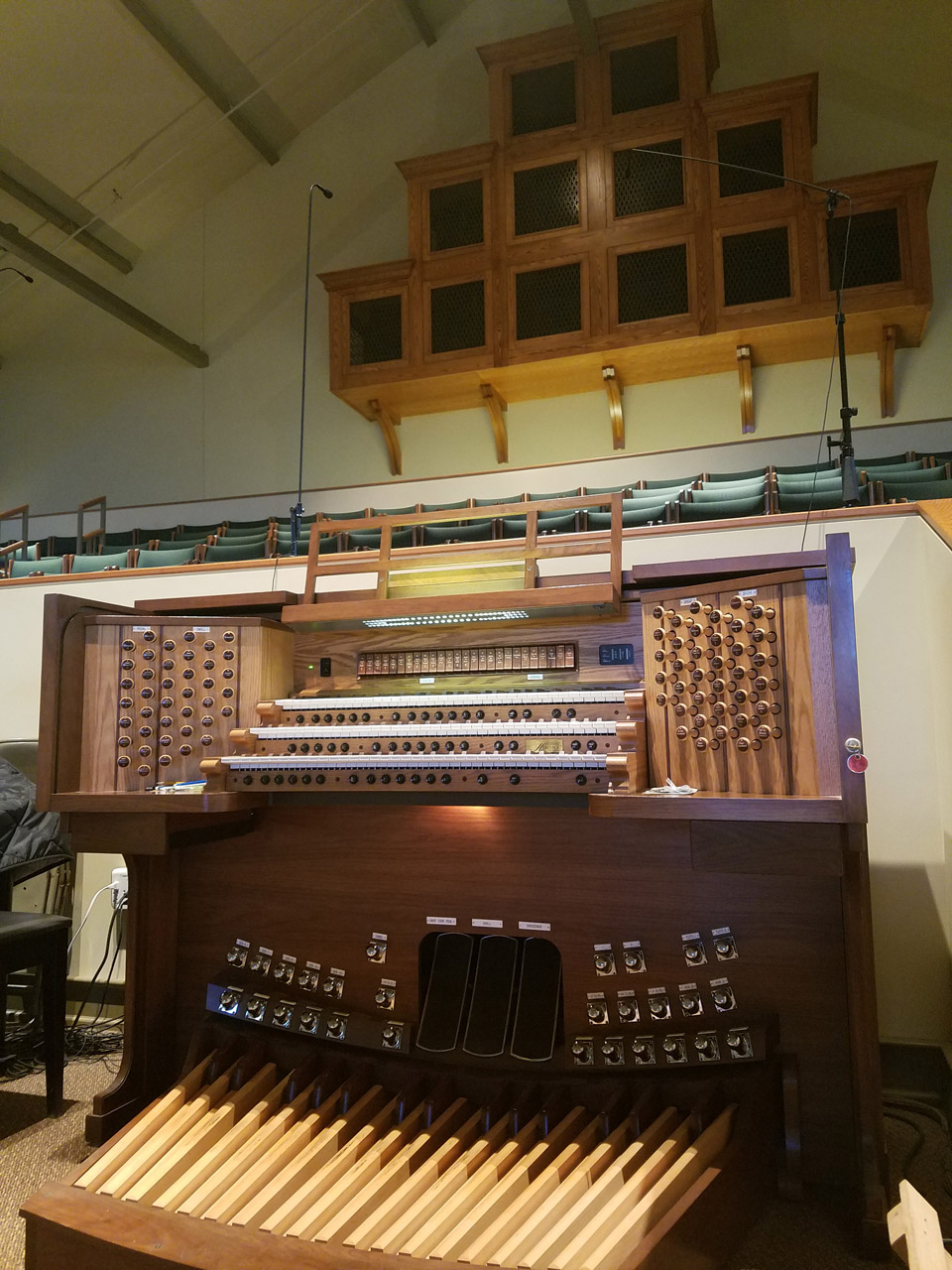 64 Stop Allen Organ with Heritage Package, St. John and Paul Catholic Church, Swickley PA