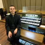 Organist Chaz Bowers at Dedication Concert First Presbyterian, Jeanette, PA